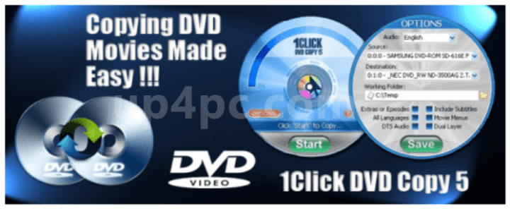 1CLICK DVD Copy Pro Crack 6.2.1.8 +registration code
