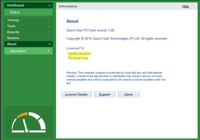 Quick Heal Total Security 19.00 Crack Patch + License Key 2021 Free