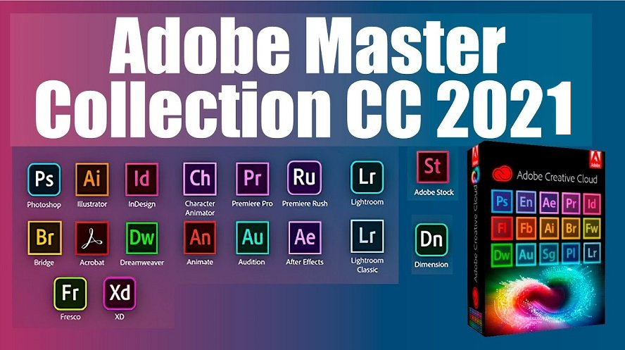 Adobe Master Collection CC 2021 Crack With License Key Free Download